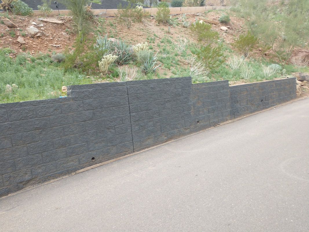 Scottsdale block fence cost